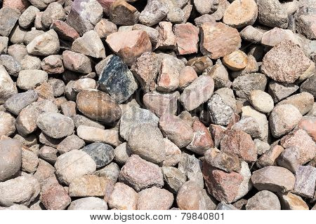 A Pile Of Rock - Construction Material