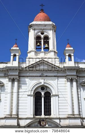 San Augustin Sanctuary in La Paz, Bolivia