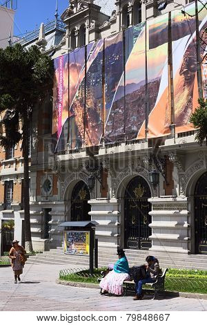 City Hall of La Paz, Bolivia