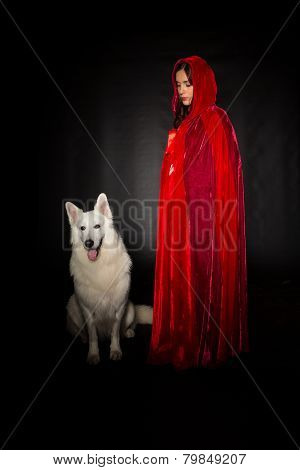 Red Hiding Hood Concept