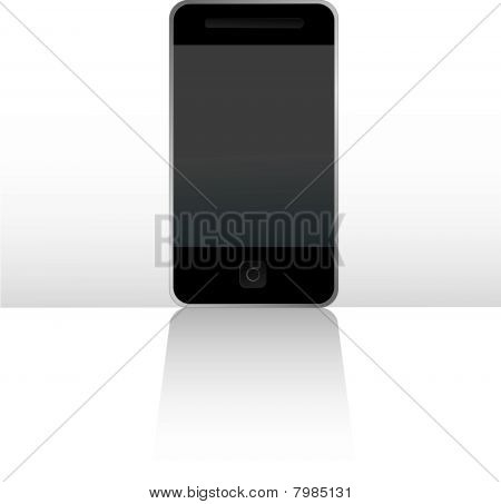 Mobile touch screen phone digitally