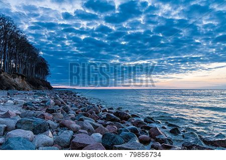 Stones On The Baltic Sea