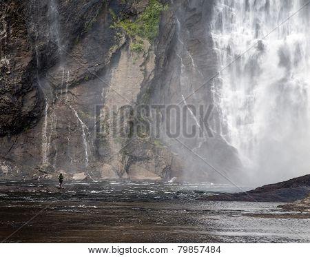 Montmorency Falls Fishing