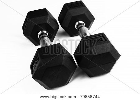 Two 7.5Kg Dumb-bells