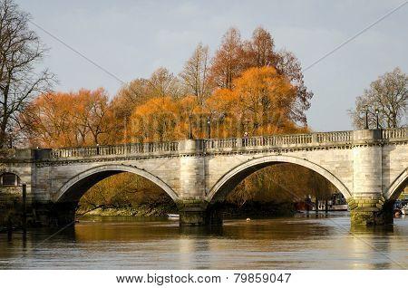 London, Richmond Bridge