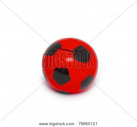 Moneybox In The Form Of The Ball