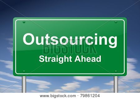 outsourcing sign