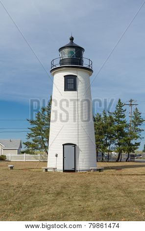 Newburyport Lighthouse In Massachusetts