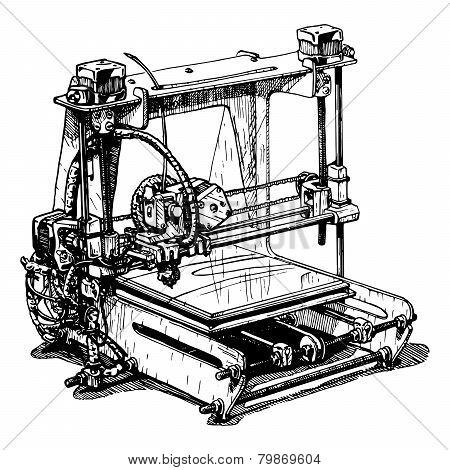 Plastic 3D Printer