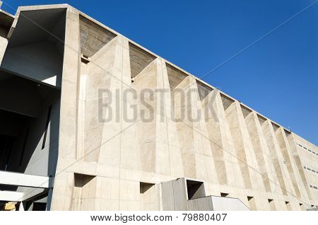 Ahmedabad, India - December 27, 2014: Tagore Memorial Hall In Ahmedabad