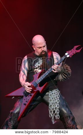 Slayer, Kerry King on Sonisphere festival