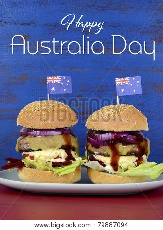 The Great Australian BBQ Burger