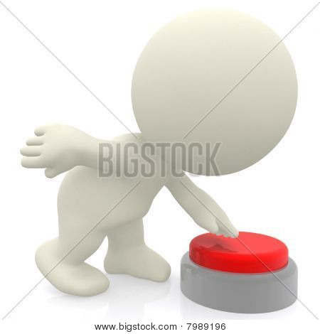 Pusshing A Red Button