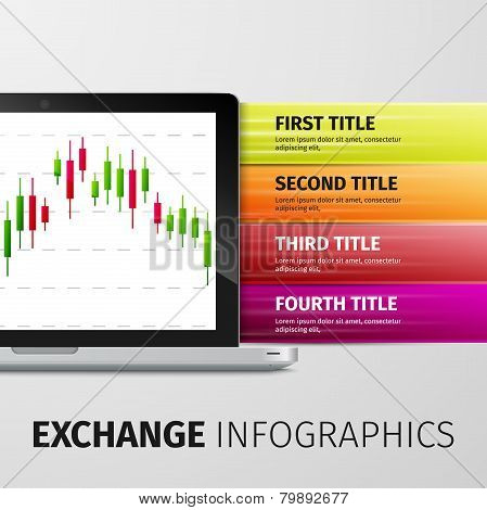Exchange infographics