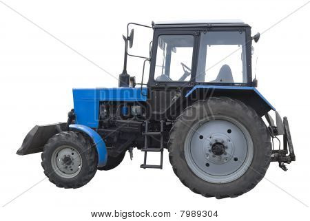 Bulldozer Blue Side | Isolated