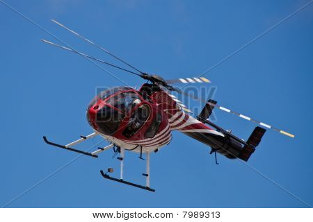 SAN CARLOS, CA - JUNE 19: Hughes/MD Helicopters MD 500 Series on display at the Vertical Challenge 2