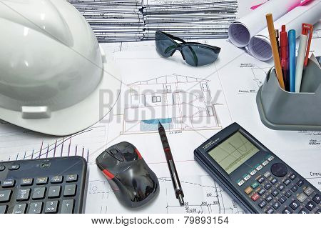 Civil Engineer's Desk