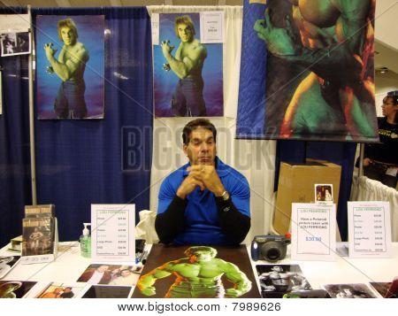 Lou Ferrigno o Hulk Original' na Wondercon 2010