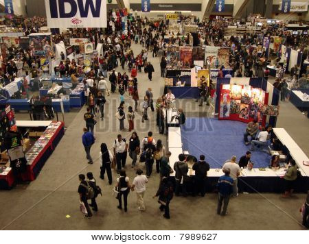 Overhead Of Wondercon 2010