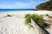 foto of breathtaking  - Greenfields Beach Jervis Bay is a rustic natural and unspoilt beach in Jervis Bay Australia - JPG