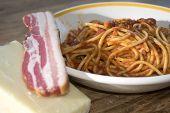 picture of spaghetti  - tasty Italian speciality - JPG