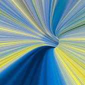 image of high-quality  - Abstract wormhole color tunnel high quality artwork - JPG