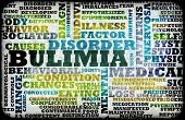 stock photo of bulimic  - Bulimia Nervosa Eating Disorder as a Concept - JPG
