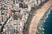 pic of ipanema  - Aerial View of Buildings in Front of the Ipanema Beach - JPG