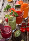 pic of fruit-juice  - Fresh juice mix fruit - JPG