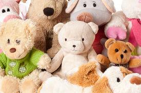 stock photo of stuffed animals  - the photo shot of a stuffed animals - JPG