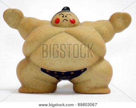 Sumo wrestler Figurine