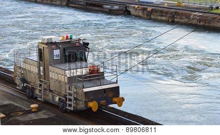 Panama Canal Modern Mule