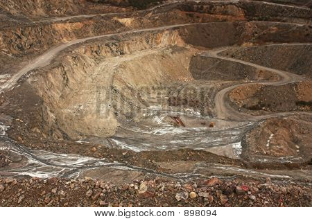 Mineral Extraction Open Cast