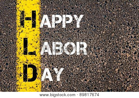 Acronym Hld As Happy Labor Day