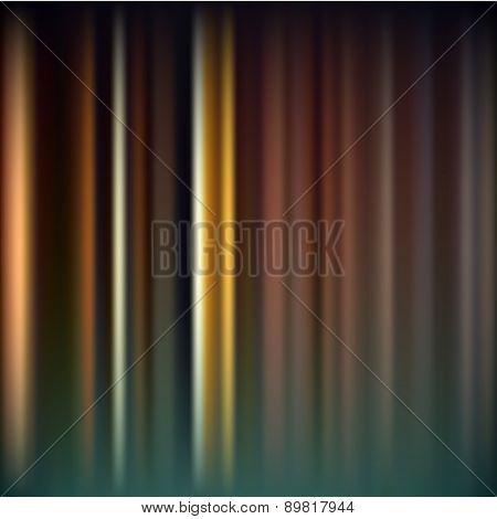 Abstract Vertical Blur Bokeh Vector Dark Night Background Eps10