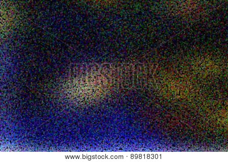 magic colorful blur abstract background with dotted pointillized style