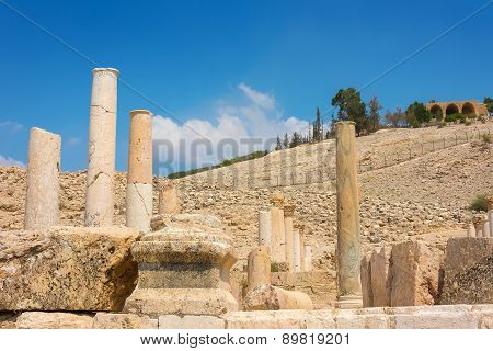 Ancient Ruins Of Pella Jordan