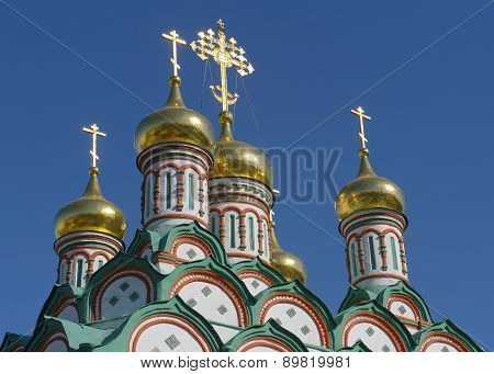 Golden domes of Russia