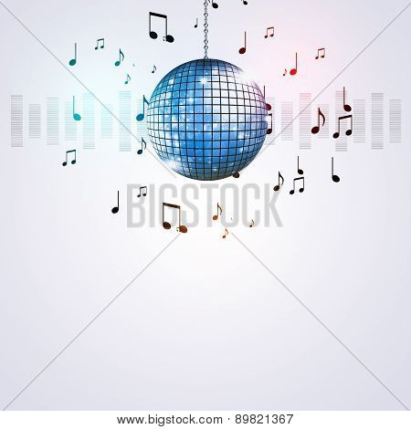 Music Ball Party Background