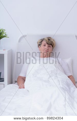 Terminally Ill Senior Woman