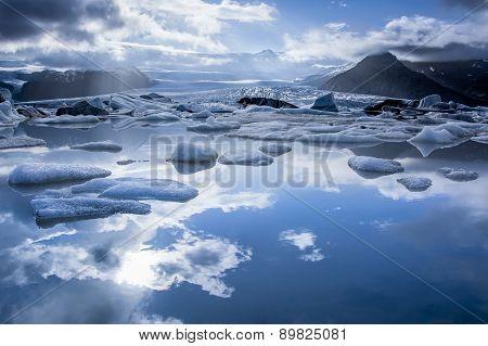 Iceberg Lake, Jokulsarlon.