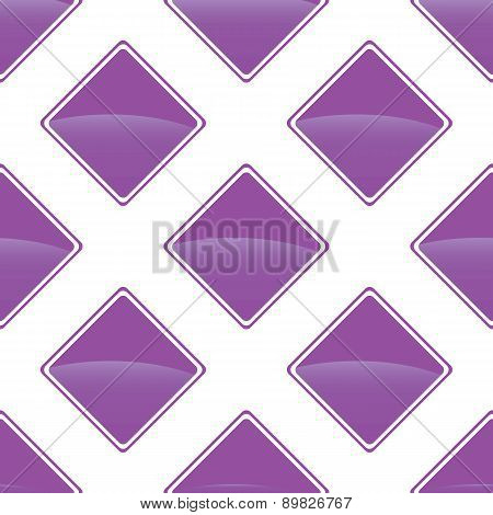 Violet turned square pattern