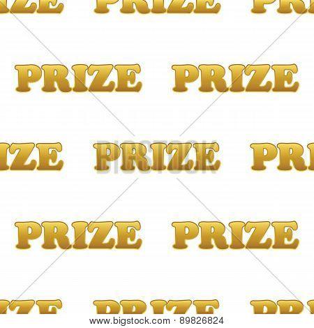 Word PRIZE pattern