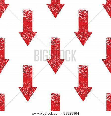 Red down arrow pattern