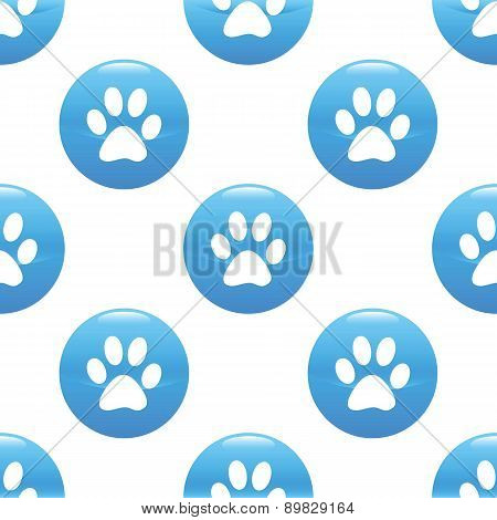 Paw sign pattern