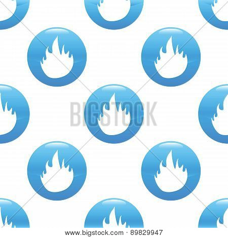 Fire sign pattern