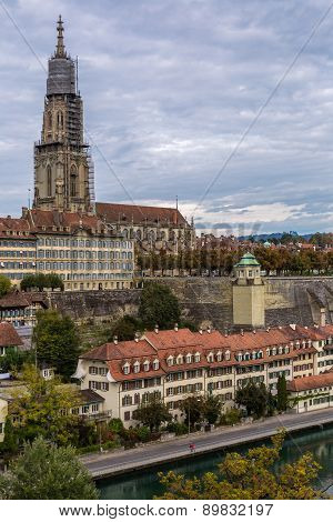 Bern And Berner Munster Cathedral