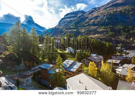 Ski Resort Zermatt