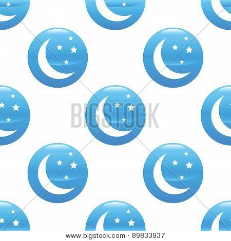 Crescent moon sign pattern