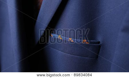 Close-up Of Jacket Pocket